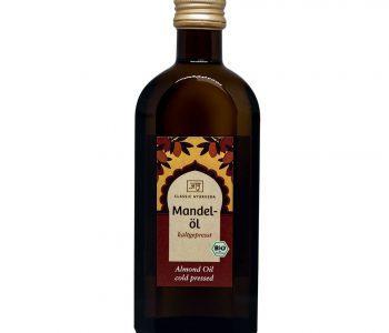Amandelolie, biologisch - 250 ml.
