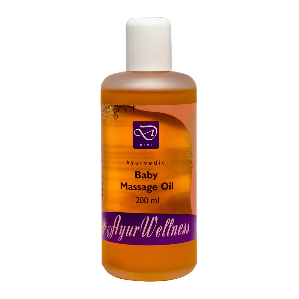 Baby Massage Oil - 200 ml.