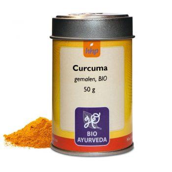 Curcuma, gemalen, BIO - 50 gram