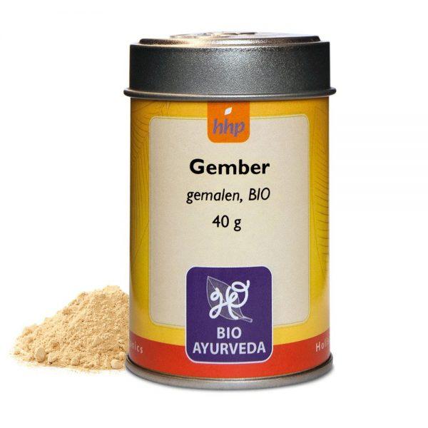 Gember, gemalen, BIO - 40 gram