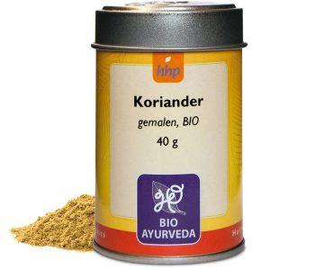 Koriander, gemalen, BIO - 40 gram