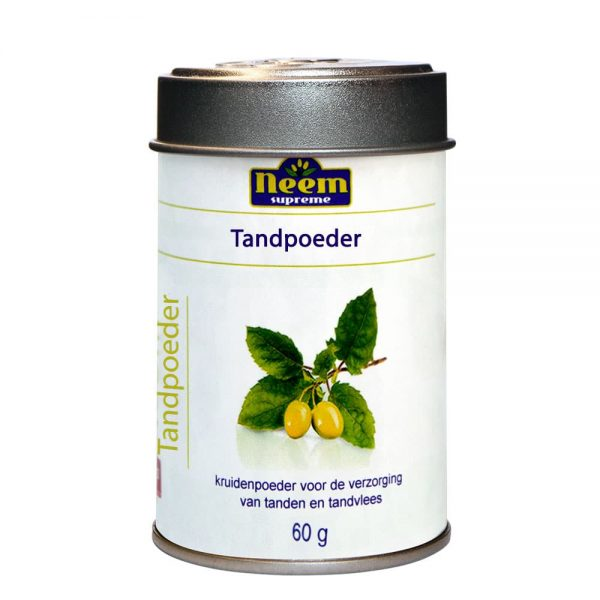 Neem Supreme Tooth Powder FRESH - 60 gram