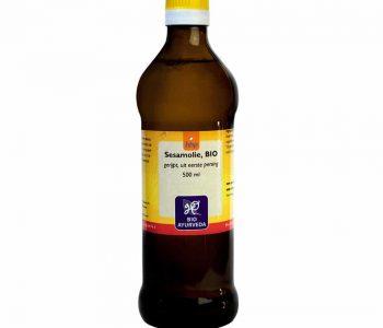 Sesamolie, biologisch - 500 ml.