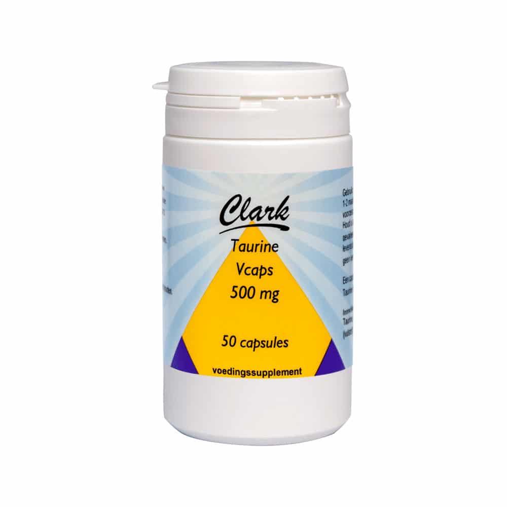 Taurine 500 mg - 50 vcaps