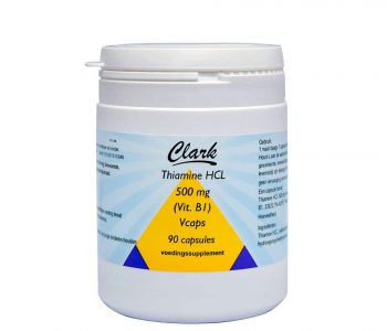 Vitamine B1 Thiamine 500 mg - 90 vcaps