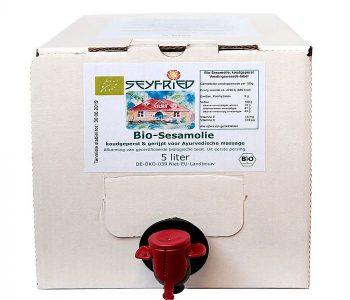 Sesamolie, biologisch - 5 liter